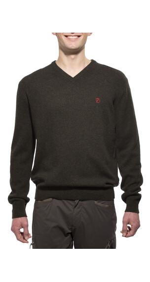 Fjällräven Shepparton Sweater Men Dark Olive